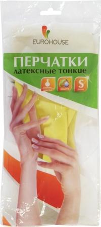 """Перчатки латексные """"EUROHOUSE"""""""