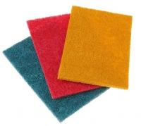Абразивное полотно на нетканой основе пл.700 г/м2 (высокой жесткости) 1м2 красный