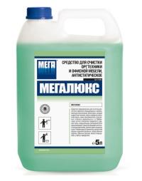 """""""Мегалюкс 5л. Средство для очистки оргтехники и офисной мебели."""""""