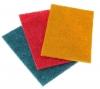 Салфетка Абразивная на нетканой основе пл.700 г/м2 (высокой жесткости) 20*20см  красный